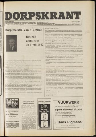Dorpskrant 1981-12-18