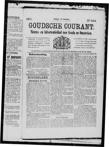 Goudsche Courant 1871-12-22