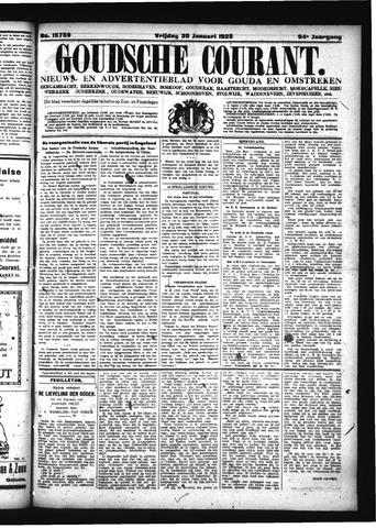 Goudsche Courant 1925-01-30