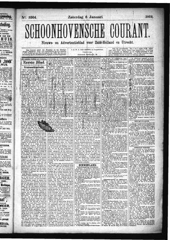 Schoonhovensche Courant 1912-01-06