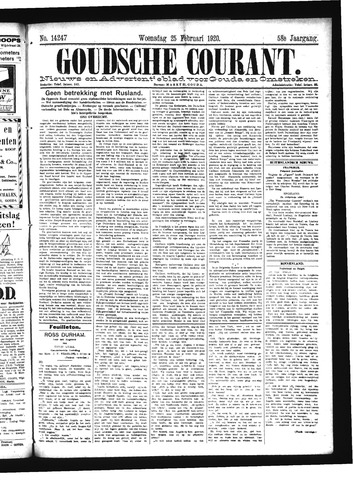 Goudsche Courant 1920-02-25