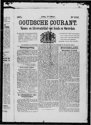 Goudsche Courant 1871-02-26