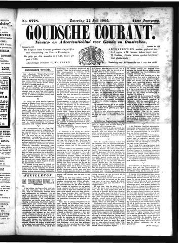 Goudsche Courant 1905-07-22