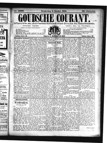 Goudsche Courant 1913-10-09