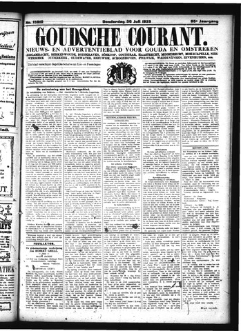 Goudsche Courant 1925-07-30