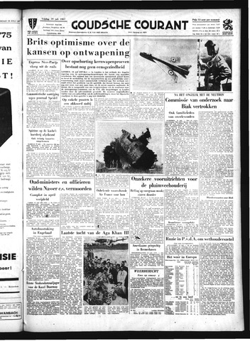 Goudsche Courant 1957-07-19