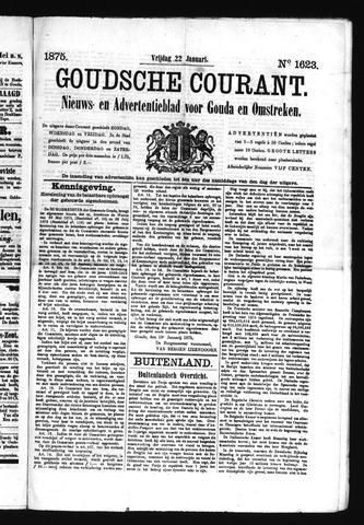 Goudsche Courant 1875-01-22