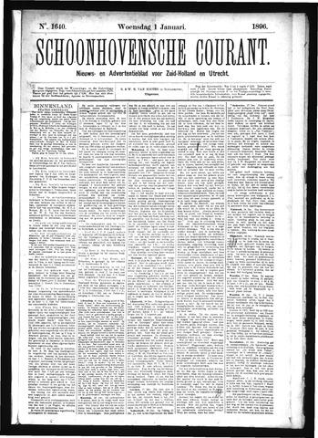 Schoonhovensche Courant 1896-01-01