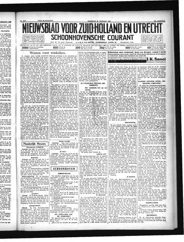 Schoonhovensche Courant 1935-02-20