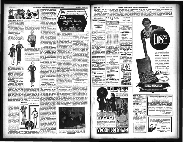 Schoonhovensche Courant 1933-10-30
