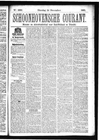 Schoonhovensche Courant 1901-12-24