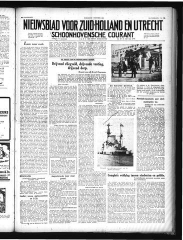 Schoonhovensche Courant 1949-10-05