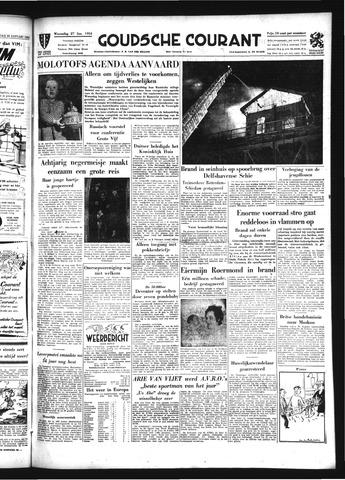Goudsche Courant 1954-01-27