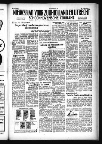 Schoonhovensche Courant 1953-04-20