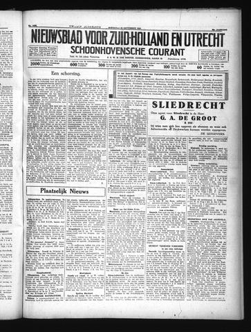 Schoonhovensche Courant 1934-09-26