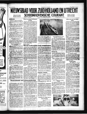 Schoonhovensche Courant 1950-03-15
