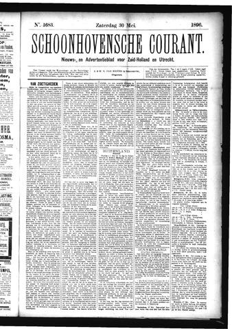 Schoonhovensche Courant 1896-05-30