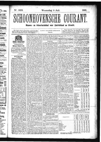 Schoonhovensche Courant 1901-07-03