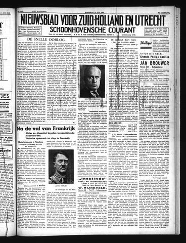 Schoonhovensche Courant 1940-06-19