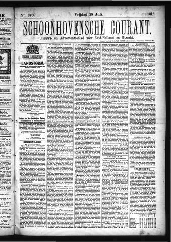 Schoonhovensche Courant 1916-07-28