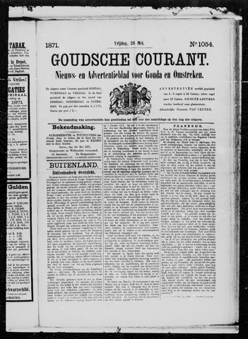 Goudsche Courant 1871-05-26