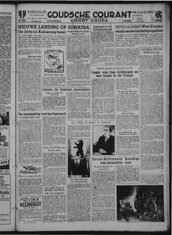 Goudsche Courant 1948-12-22