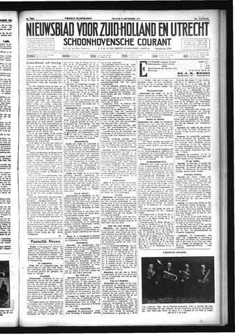 Schoonhovensche Courant 1933-09-08