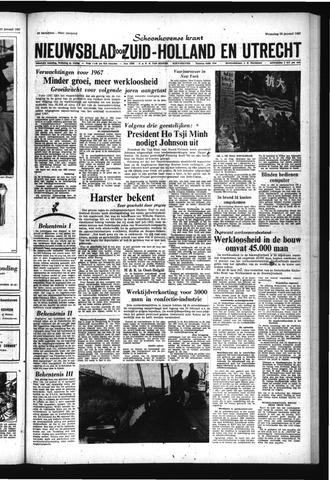 Schoonhovensche Courant 1967-01-25