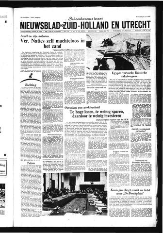 Schoonhovensche Courant 1967-07-05