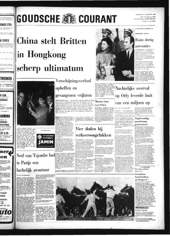 Goudsche Courant 1967-08-21