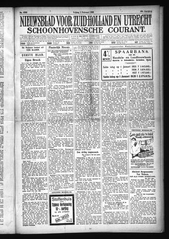Schoonhovensche Courant 1928-02-03