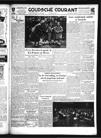 Goudsche Courant 1952-10-28
