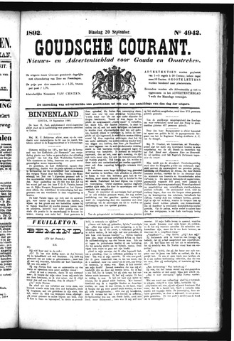 Goudsche Courant 1892-09-20
