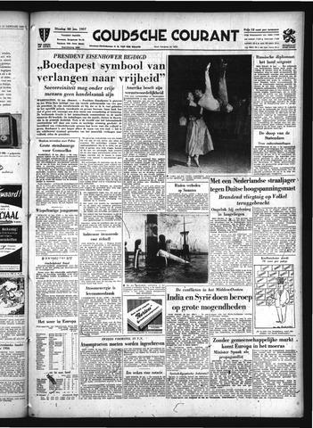 Goudsche Courant 1957-01-22