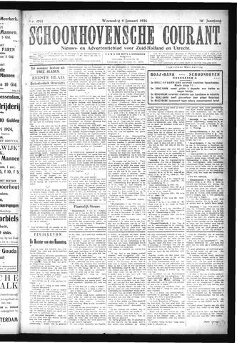 Schoonhovensche Courant 1924-01-09