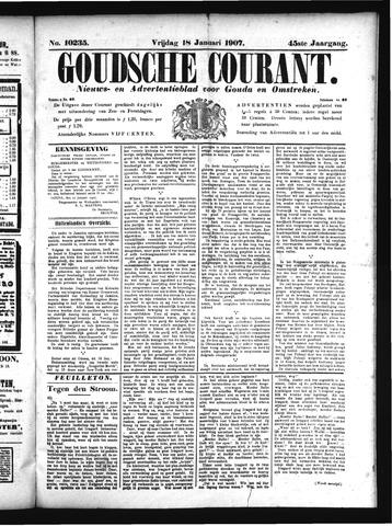 Goudsche Courant 1907-01-18