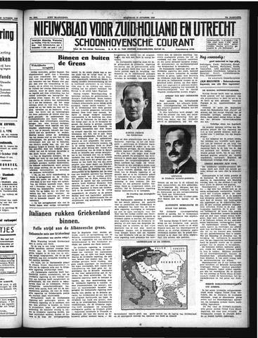 Schoonhovensche Courant 1940-10-30