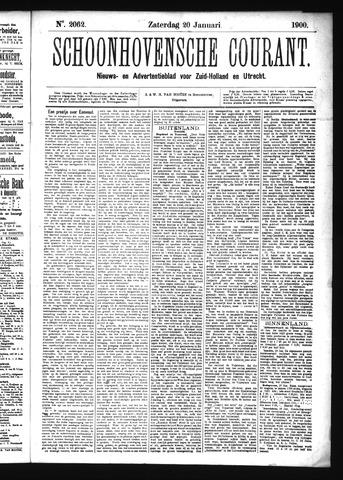Schoonhovensche Courant 1900-01-20