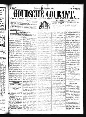 Goudsche Courant 1920-11-23