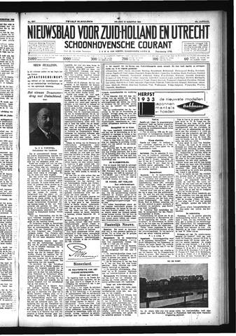Schoonhovensche Courant 1933-08-18
