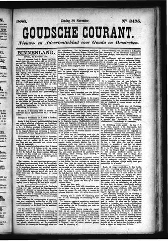 Goudsche Courant 1886-11-28