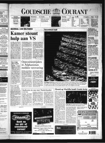 Goudsche Courant 2001-11-10