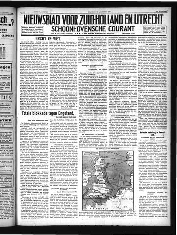 Schoonhovensche Courant 1940-08-19