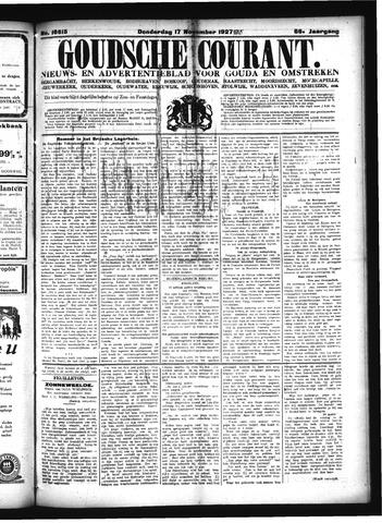 Goudsche Courant 1927-11-17