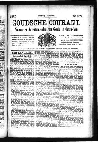 Goudsche Courant 1872-10-30