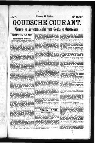 Goudsche Courant 1877-10-10