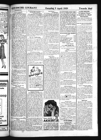 Goudsche Courant 1939-04-09