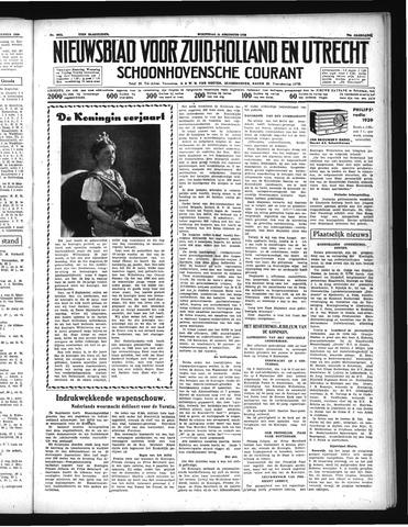 Schoonhovensche Courant 1938-08-31