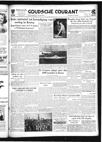 Goudsche Courant 1951-06-04