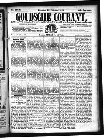 Goudsche Courant 1918-02-23